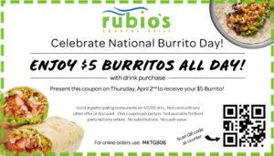 $5 Burrito